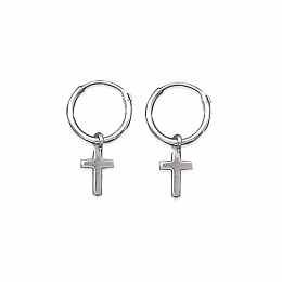 LOOP EARRINGS SILVER 925