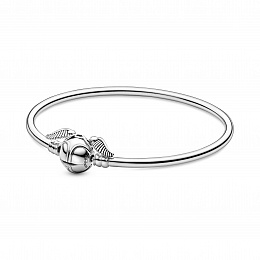 Harry Potter sterling silver bangle withGolden Sni