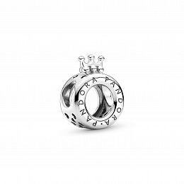 Crown O sterling silver charm /799036C00