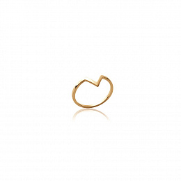 RING 18 KT GOLD PLATED